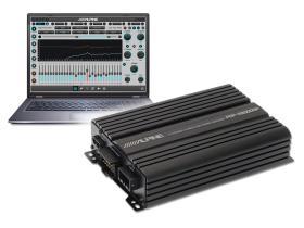 Alpine PDP-E800DSP - MONO, 550W MAX., 250W RMS X 1 (2?), 150W X 1 (4?).