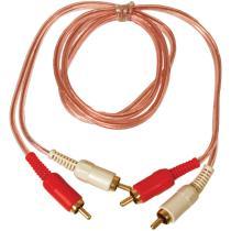Sonon 20300100 - RCA PROLONGADOR 0,5 MTS. ECO TRANSPARENTE SIN REMOTE