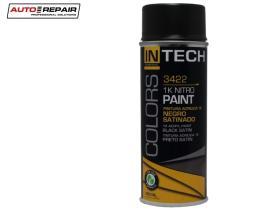 Auto Repair 3422 - Pintura en spray negro mate 400 ml.