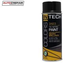 Auto Repair 3423 - Pintura en spray negro satinado 400 ml.