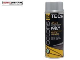 Auto Repair 3424 - Pintura en spray negro brillante 400 ml.