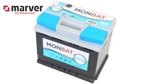 Monbat batteries 560002056 - Batería de 60Ah serie EFB START-STOP