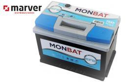 Monbat batteries 570002068 - Batería de 70Ah serie EFB START-STOP
