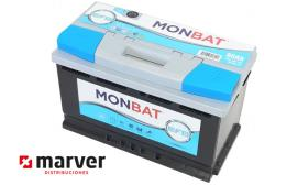 Monbat batteries 580002074 - Batería de 80Ah serie EFB START-STOP