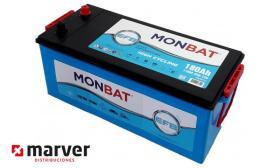 Monbat batteries 680002110EFB - Batería de 180Ah serie HD EFB