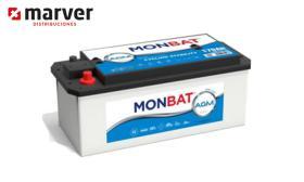 Monbat batteries AGM-140A - Batería de 140AH - 135AH serie  AMG DC