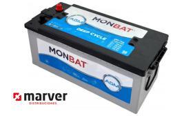 Monbat batteries AGM-170B - Batería de 170AH - 156AH serie HD AMG