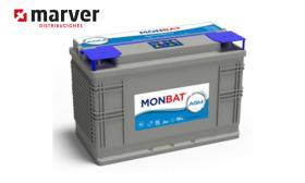 Monbat batteries AGM-1200C - Batería de 100AH y 105AH AGM DC