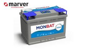 Monbat batteries AGM-81060 - Batería de 60AH -65AH . AMG DC Series
