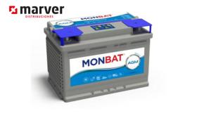 Monbat batteries AGM-81070 - Batería de 70AH - 75AH . AMG DC Series