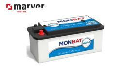 Monbat batteries 720901140 - BATERÍA DE 220AH 1400 A SERIE AGM HD