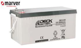 Teck europe DB12-260 - Batería de 282AH serie CYCLIC AGM