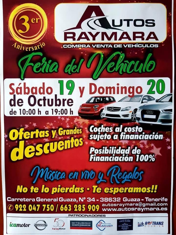 Feria del vehículo Autos Raymara