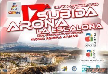 Arona cerrará del 19 al 20 de octubre la temporada 2019 del Nacional de Montaña